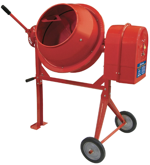 3.5 Cubic Foot Concrete Mixer
