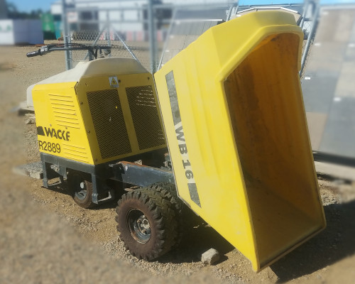 WB16 Powered Concrete Buggy