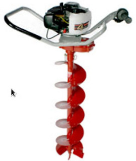 One Man Hole Digger or Ground Auger