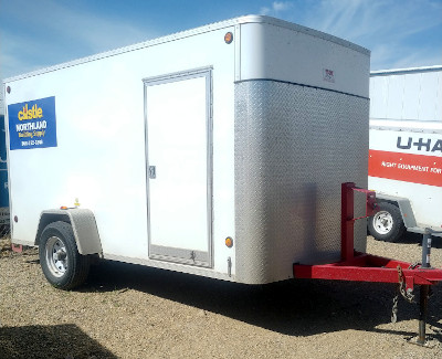 Cjay 6x12 enclosed trailer (5000 lb. axle) (2018)