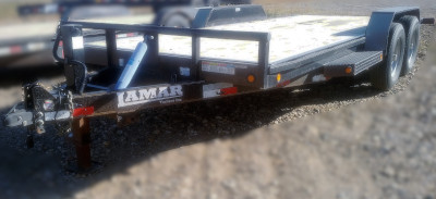 Lamar 18 foot flat deck Trailer