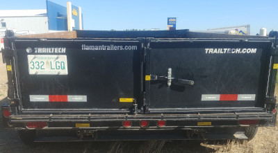 Northland Building Supply Rental Dump Trailer